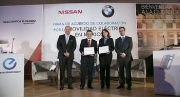 Accordo Nissan/BMW: un accordo per lo sviluppo in Messico delle stazioni di ricarica per veicoli elettrici