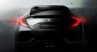 Honda – Salone di Ginevra 2016: la Casa svela il nuovo concept del prototipo della Civic berlina
