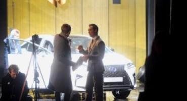 """""""The Life RX"""", l'attore Jude Law celebra il lancio del nuovo Lexus RX"""