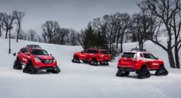 """Nissan presenta al Salone di Chicago 2016 le """"Winter Warriors"""""""