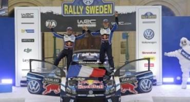 Rally di Svezia, terza vittoria consecutiva per Ogier e la Polo R WRC