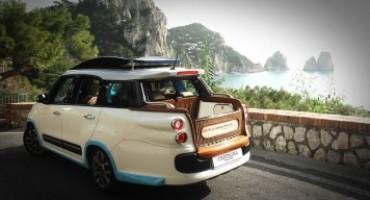 La Carrozzeria Castagna presenta a Capri il nuovo Taxi Tiberio, su base Fiat 500L Living
