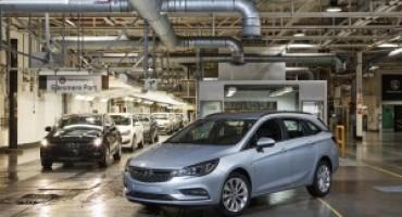 Nuova Opel Astra Sports Tourer, iniziata la produzione nel sito di Ellesmere Port