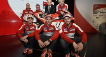 MotoGP, presentato il Ducati Team 2016 all'Auditorium Ducati di Bologna