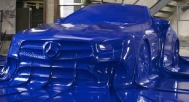 Mercedes-Benz, la nuova SL in anteprima italiana a Milano Moda Donna