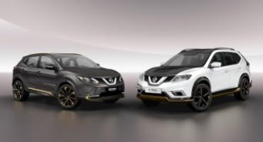 Nissan svela al Salone dell'Auto di Ginevra 2016 due 'Premium Concept' di Qashqai e X-Trail