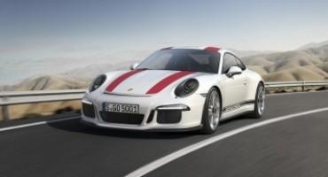 Nuova Porsche 911 R, nel segno della tradizione