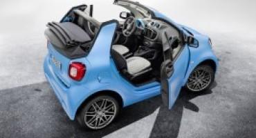 Nuova smart fortwo cabrio BRABUS edition