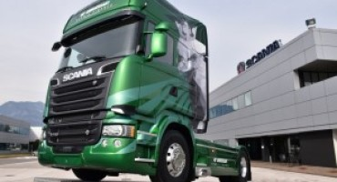 Scania presenta l'edizione limitata The Emerald