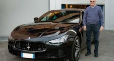 Maserati: Arrigo Sacchi ritira la sua nuova Ghibli