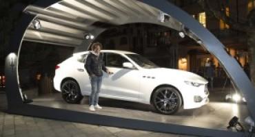 Maserati Levante, la cerimonia conclusiva del Winter Tour tiene a battesimo il nuovo SUV della Casa del Tridente