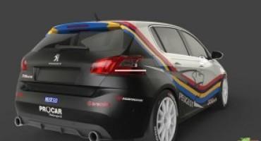 Campionato Italiano Turismo, la nuova Peugeot 308 Mi16 debutterà nel TCS