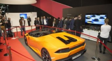 JEC Composites 2016: Automobili Lamborghini premiata a Parigi con l'Innovation Award