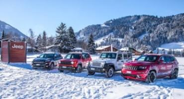 """Jeep """"Winterproof"""": si è concluso in Italia il tour del brand Jeep"""