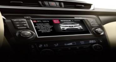 Nissan, grazie alla tecnologia DAB+  i comunicati radio diventano visibili
