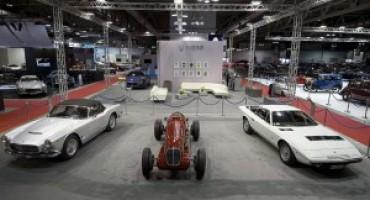 Maserati a Milano AutoClassica: la Casa del Tridente presenta veicoli di alto valore storico