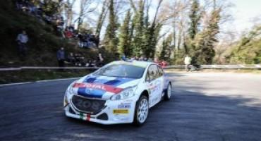 Paolo Andreucci e Anna Andreussi su Peugeot 208 T16 vincono il rally de Il Ciocco