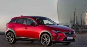 Mazda CX3, un riferimento tra i crossover urbani
