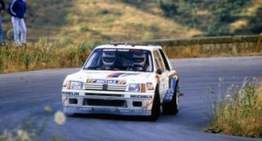 Peugeot 205 Turbo 16 Gr. B : trent'anni fa iniziava l'avventura di Andrea Zanussi