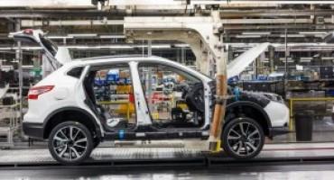 Nissan, un investimento per incrementare la capacità produttiva di Qashqai