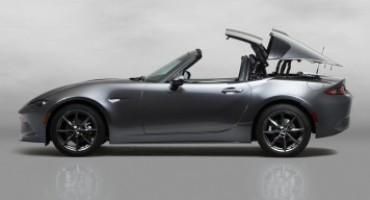 """Nuova Mazda MX-5 RF """"retractable fastback"""""""