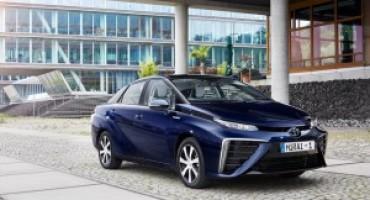 """La nuova Toyota Mirai è stata eletta """"World Green Car of the Year"""""""