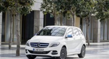 Mercedes Benz, la Classe B Electric Drive ora disponibile a noleggio anche su Roma e Milano