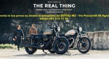 Moto Guzzi V9, vieni a provarla a Napoli, in anteprima, da Dotoli M2