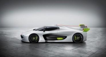 Pininfarina presenta la concept car H2 Speed, l'auto da pista a idrogeno