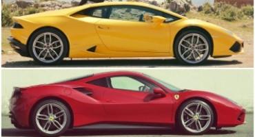 Ferrari F488 GTB vs Lamborghini Huracàn