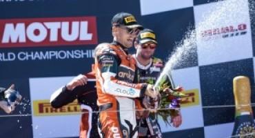Superbike 2016, Aragon: vittoria del Team Aruba.it Racing Ducati in Gara 1 con Chaz Davies