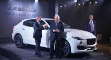 Maserati Levante, debutta a Roma nella cornice di Casa delle Armi nel Foro Italico