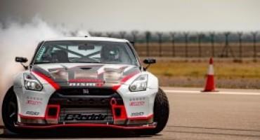 Nissan GT-R Nismo entra nel Guinness World Records per la derapata più veloce