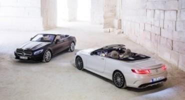 Nuova Mercedes-Benz Classe S Cabrio, stile sensuale ed esclusivo