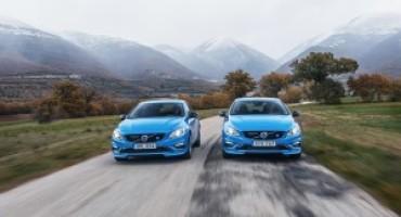 Volvo S60 e V60 Polestar, ora disponibili con il nuovo motore da 367 cavalli
