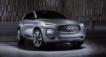 Infiniti presenta ai Media l'originale concept car QX Sport Inspiration