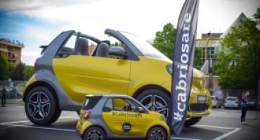 smart cabrio, parte da Roma il tour italiano della piccola più trendy del mercato