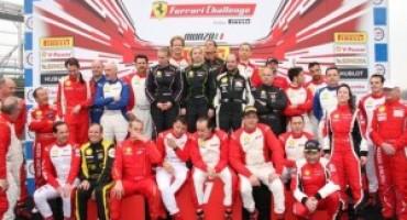 Ferrari Challenge, a Monza in scena le prime gare del campionato europeo