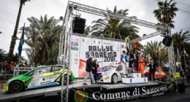 63° Rally di Sanremo, Paolo Andreucci e Anna Andreussi su Peugeot 208 T16 si aggiudicano l'edizione 2016