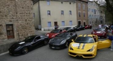 Ferrari California T HS, svelata ai giornalisti sulle strade francesi