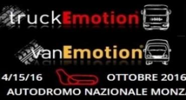 Truckemotion e Vanemotion, pronto il programma della nuova edizione 2016