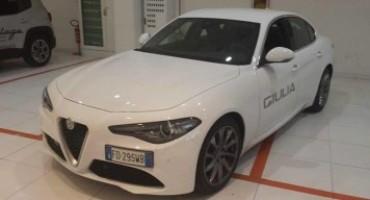 Alfa Romeo: Guidare Sicuri, driver ufficiale del porte aperte per la Giulia