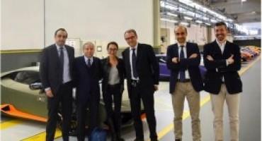 Automobili Lamborghini, Jean Todt visita la sede storica del Toro