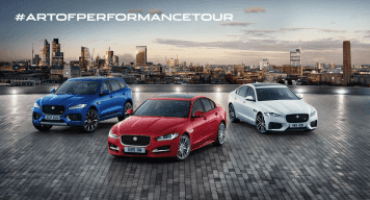 "Jaguar inaugura ""The Art of Performance"", il primo tour itinerante"