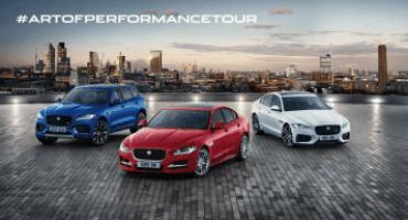 "Jaguar inaugura ""The Art of Performance"", il primo tour itinerante"