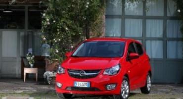 Opel svela la versione GPL della 'piccola' KARL