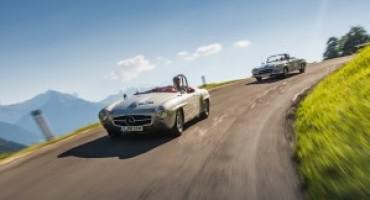Mercedes-Benz Classic alla Mille Miglia 2016 con dieci meravigliose vetture