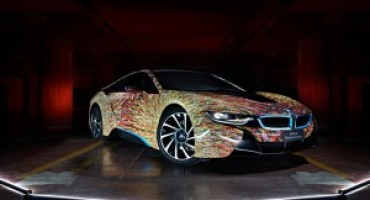 BMW i8 Futurism Edition, nasce dall'estro di Garage Italia Customs
