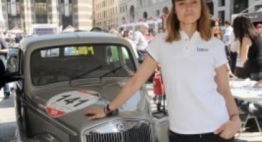 Mille Miglia 2016, continua la collaborazione tra il Marchio Lancia e l'attrice Kasia Smutniak