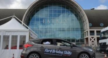 Ford Driving Skills For Life 2016, grande affluenza alla prima tappa a Roma